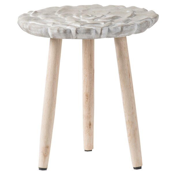 Bethea Table - Natural Beige by Ophelia & Co. Ophelia & Co.