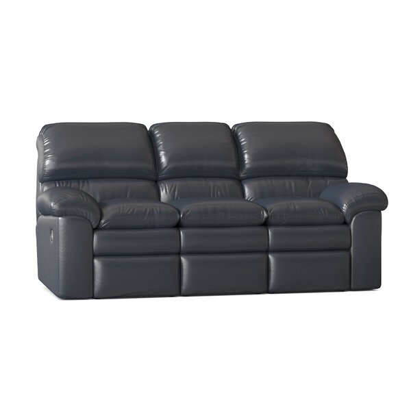 Catera Reclining Sofa by Omnia Leather Omnia Leather