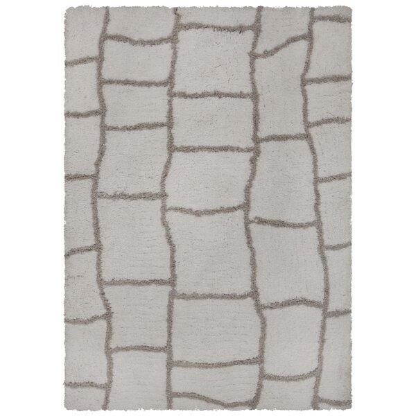 Mekhi Hand-Tufted Gray/Brown Area Rug by Brayden Studio