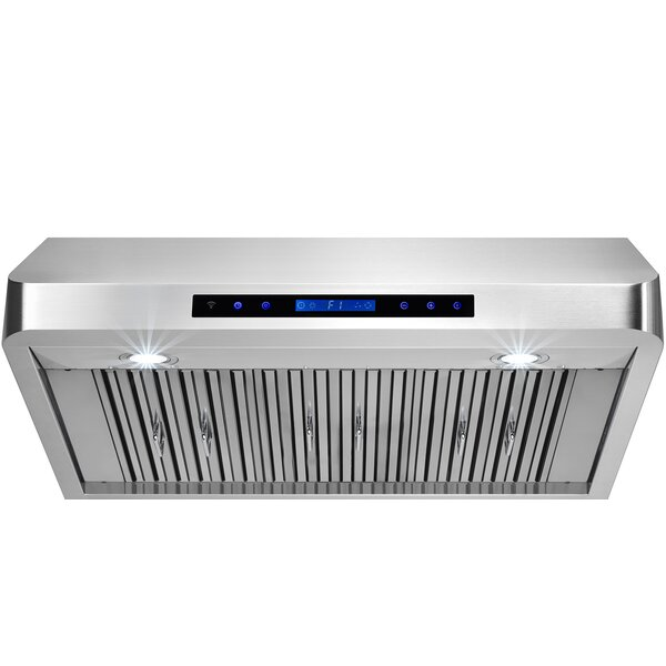 36 500 CFM Ducted Under Cabinet Range Hood by AKDY