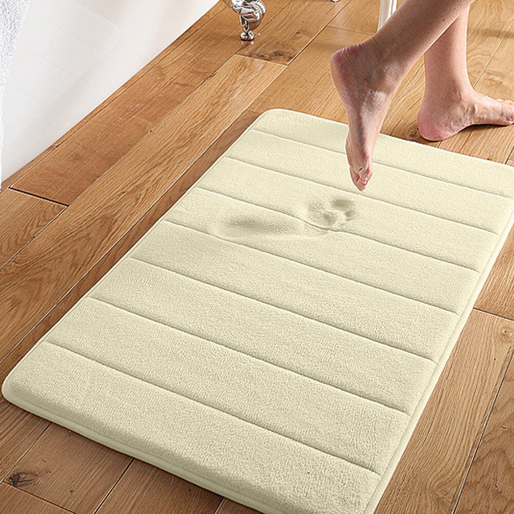 ce45a6efa85 Brayden Studio Wickline Microplush Memory Foam Bath Mat   Reviews ...