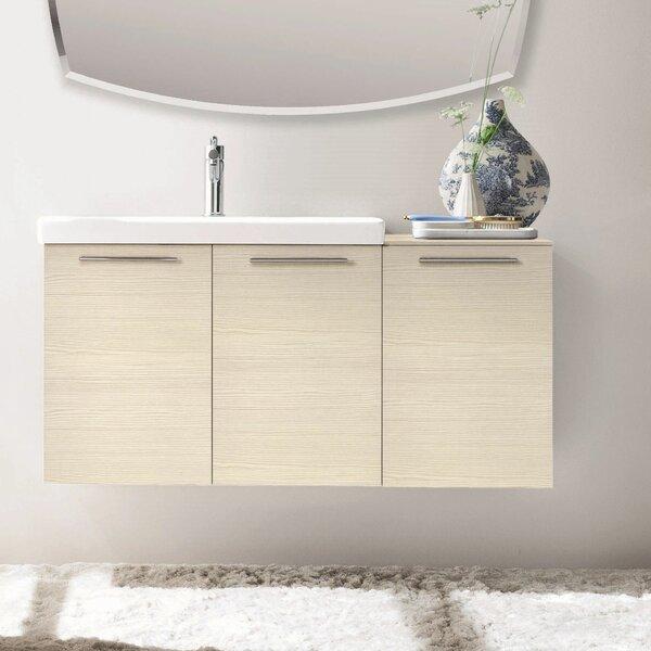 42 Single Modern Bathroom Vanity Set by Acquaviva