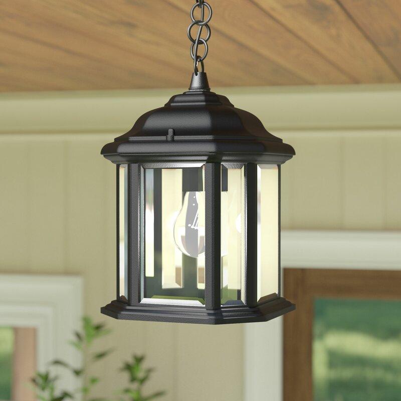 Burtt 1 Light Outdoor Hanging Lantern