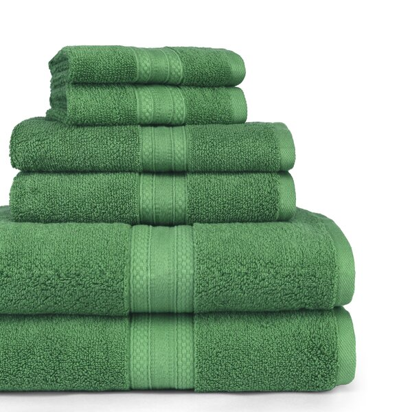 Bridewell 6 Piece Cotton Towel Set by Eider & Ivory