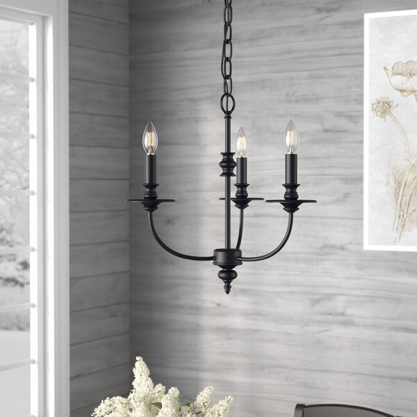 Giverny 3-Light Candle Style Classic / Traditional Chandelier by Laurel Foundry Modern Farmhouse Laurel Foundry Modern Farmhouse