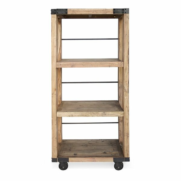Nathanial Solid Wood TV Stand For TVs Up To 32