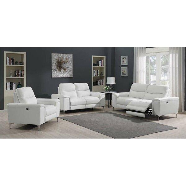 Vincenza 3 Piece Reclining Living Room Set By Orren Ellis