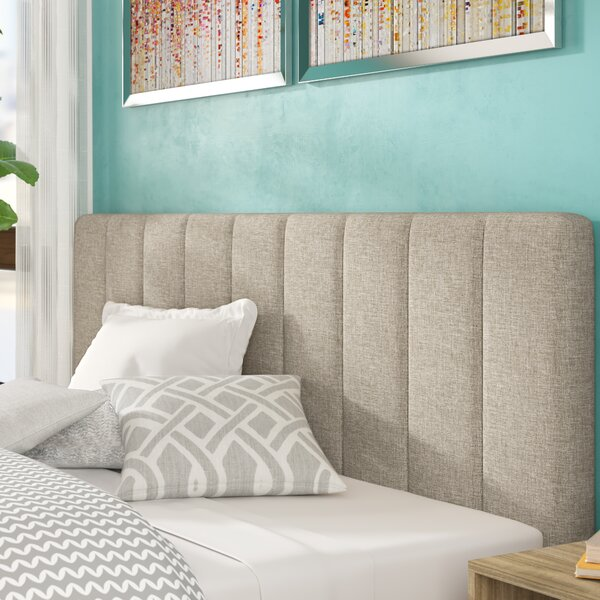 Barbagallo Vertical Channel Headboard by Mercury Row
