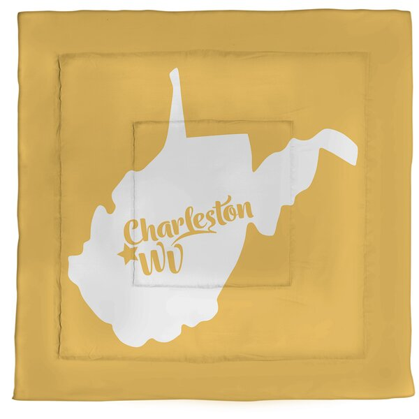Virginia Charleston West Single Reversible Comforter