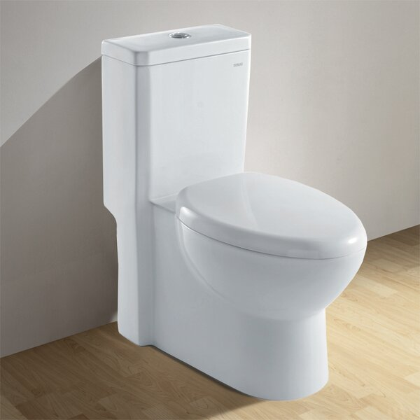 Royal 1.6 GPF Elongated One-Piece Toilet by Ariel Bath