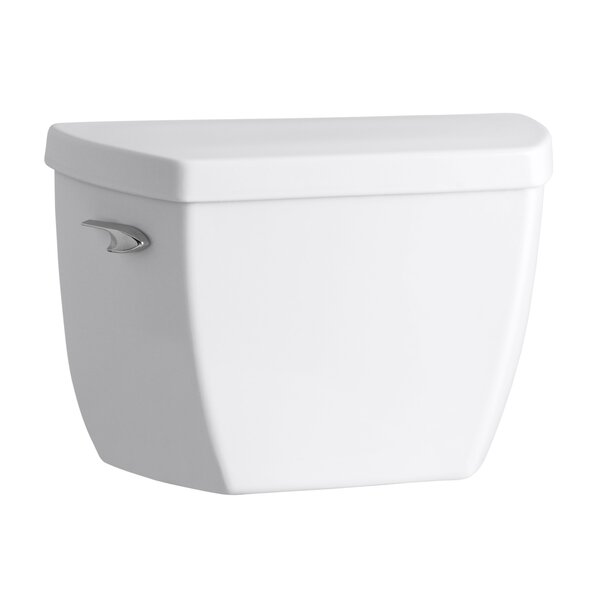 Groove 1.6 GPF Toilet Tank (Seat Not Included) by Kohler
