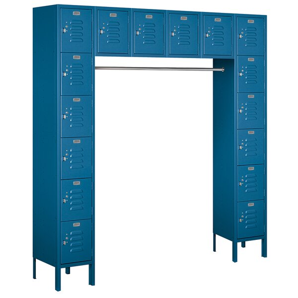 6 Tier 6 Wide Employee Locker by Salsbury Industries