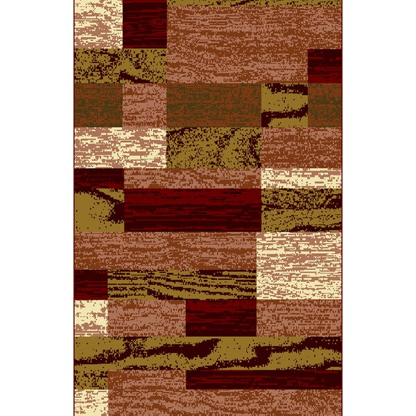 Truman Red Area Rug By Latitude Run.