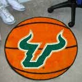 NCAA University of South Florida Basketball Mat by FANMATS