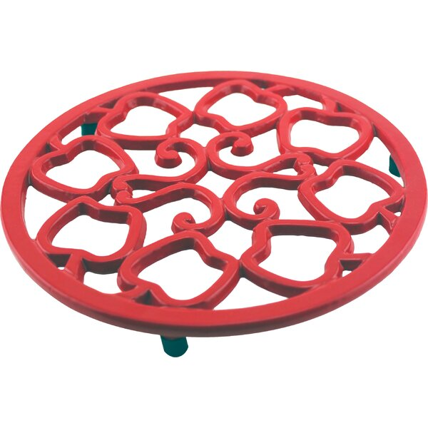 CookNCo Cast Iron Apple Trivet by BergHOFF International