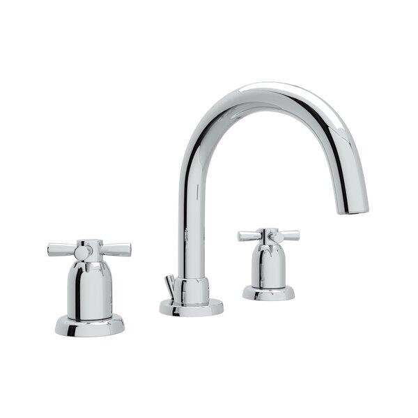 Holborn Tubular C-Spout Widespread Bathroom Faucet By Perrin & Rowe