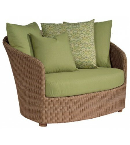 Oasis Patio Chair with Cushions by Woodard