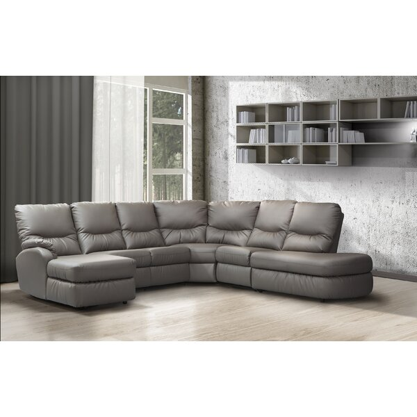 Closeout Eva Right Hand Facing Sectional by Relaxon by Relaxon