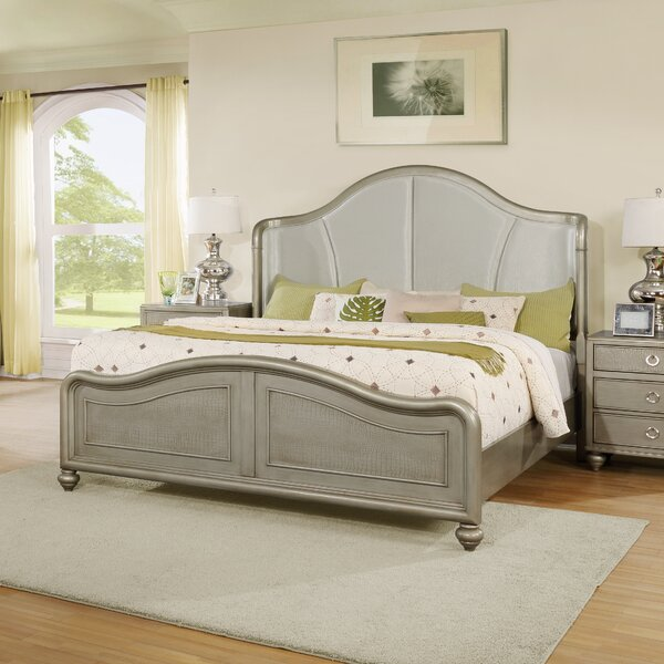 Aiden Upholstered Platform Bed by Roundhill Furniture