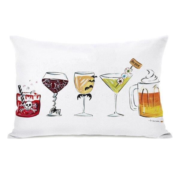 Buffum Drinks Lumbar Pillow by Ivy Bronx