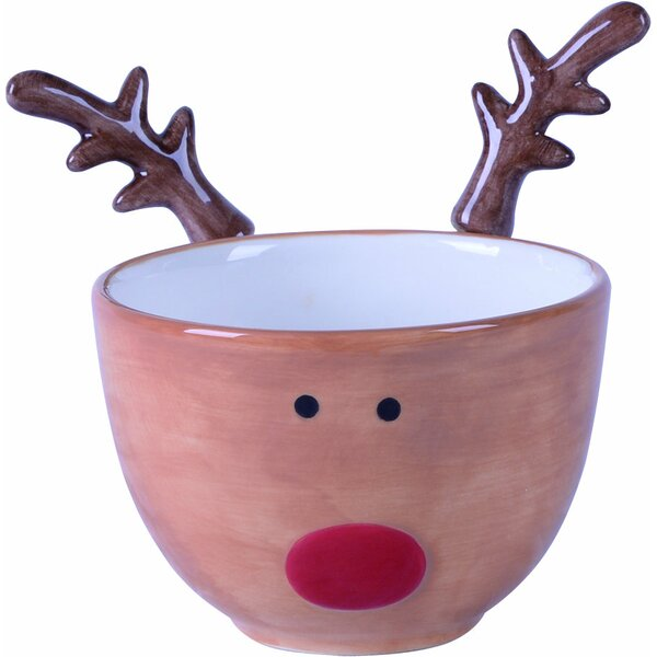 Aaron Reindeer 3 Piece Dolomite Decorative Bowl Set by The Holiday Aisle
