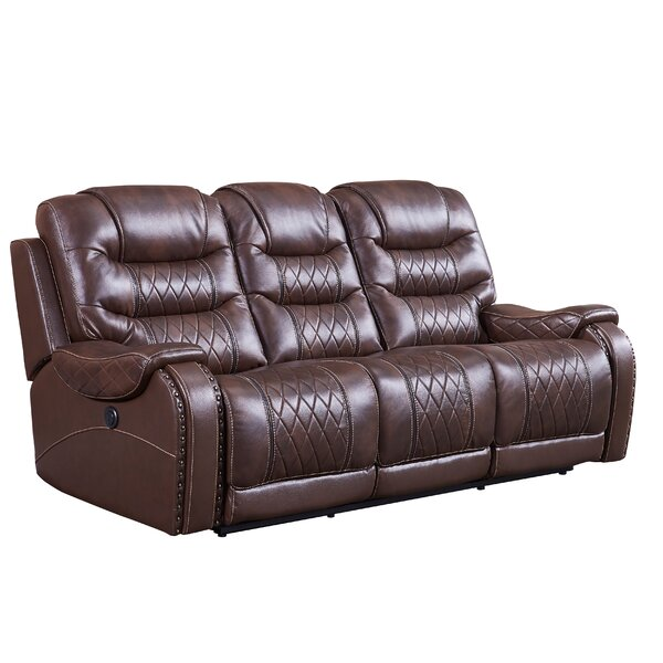 Cleckheat Reclining Sofa by Alcott Hill