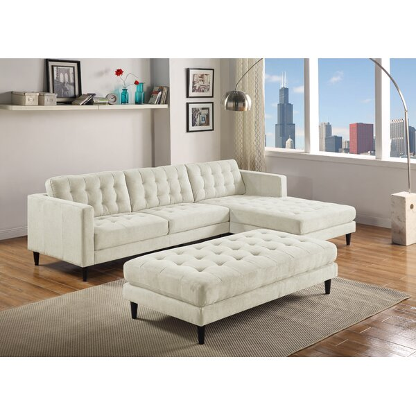 Best Price For Mcrae Right Hand Facing Sectional by Ivy Bronx by Ivy Bronx