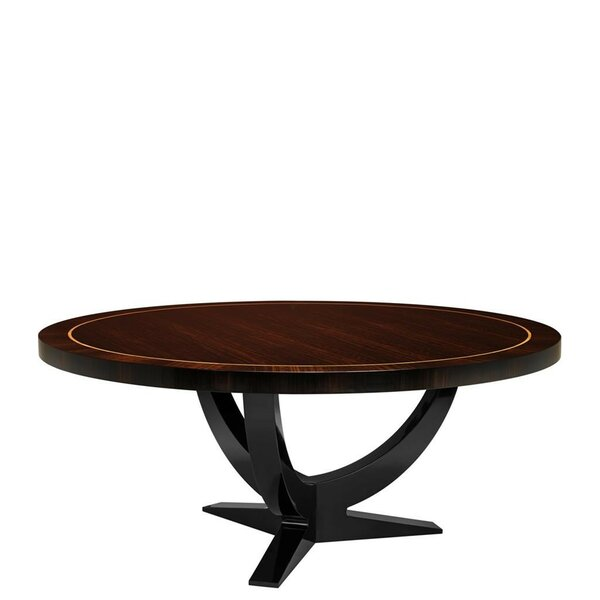 Umberto Solid Wood Dining Table by Eichholtz Eichholtz