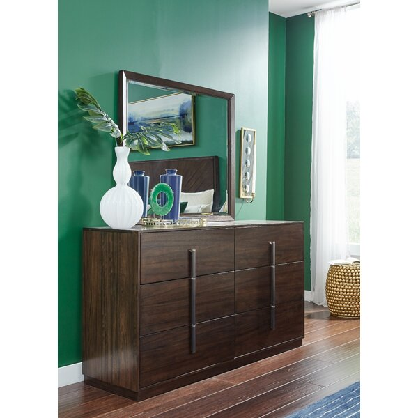 Sallie 6 Drawer Double Dresser by Brayden Studio