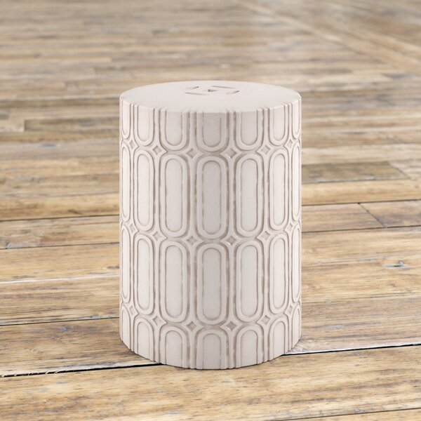 Zolan Ceramic Garden Stool By Mercury Row