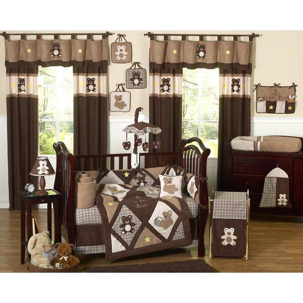 Teddy Bear 9 Piece Crib Bedding Set by Sweet Jojo Designs
