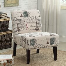 Reece Fabric Slipper Chair by ACME Furniture