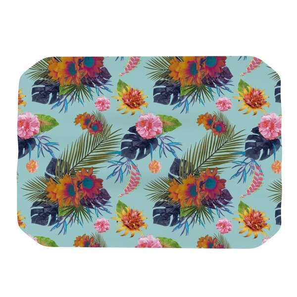 Tropical Floral Placemat by KESS InHouse