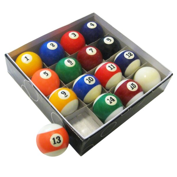 Pool Table Regulation Billiard Ball Set by Hathaway Games