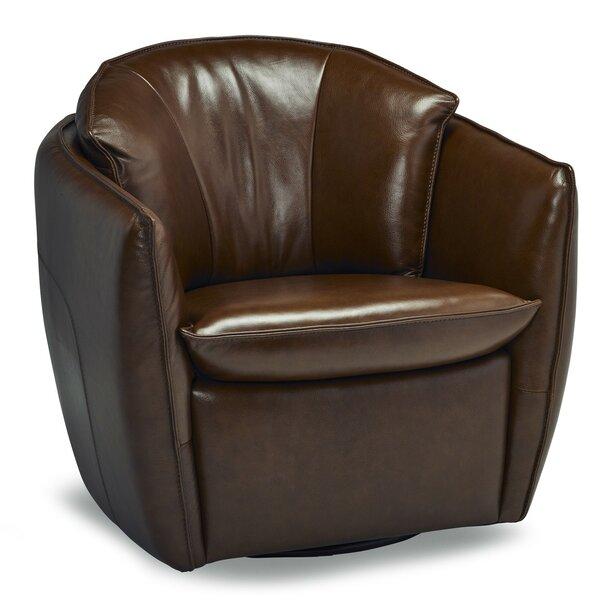 Mariela Swivel Barrel Chair by 17 Stories