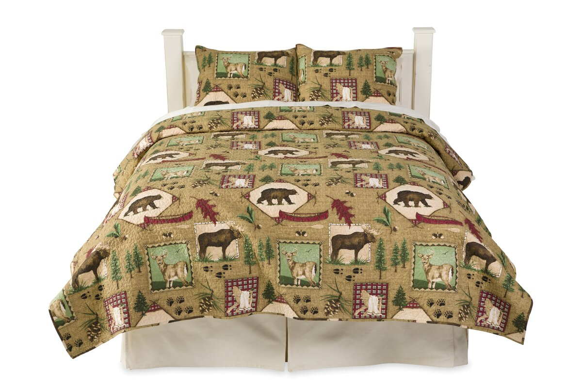 Plow & Hearth Cotton 3 Piece Quilt Set & Reviews | Wayfair : plow and hearth quilts - Adamdwight.com