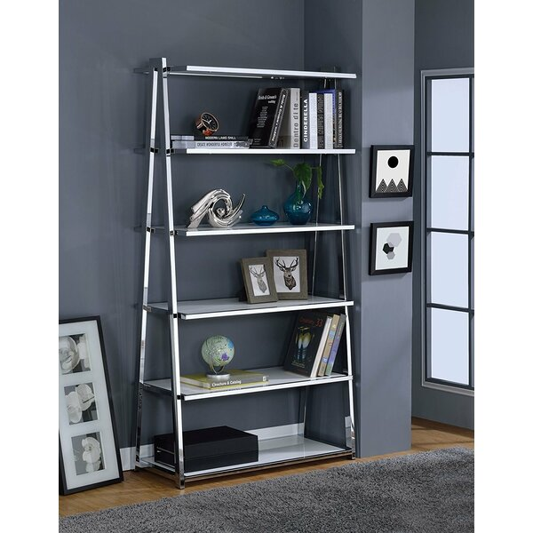 Folkes Modern Ladder Bookcase by Latitude Run