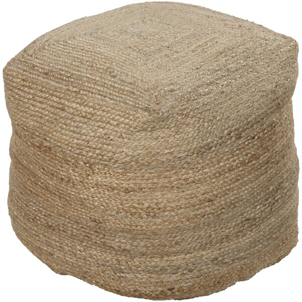 Carrollwood Pouf by Rosecliff Heights