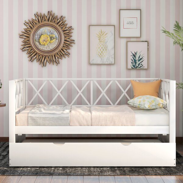 Aina Twin Daybed With Trundle By Red Barrel Studio