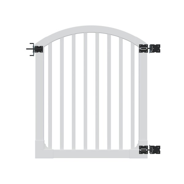 4.5 ft. H x 4 ft. W Traditional Yard and Pool Gate by Wam Bam Fence CO.