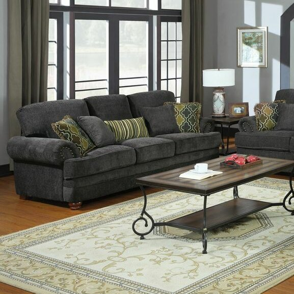 The Most Stylish And Classic Danielle Sofa by Alcott Hill by Alcott Hill