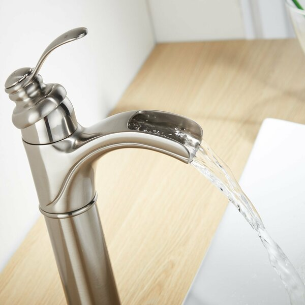 DFI Waterfall Vessel Sink Bathroom Faucet by Aquafaucet