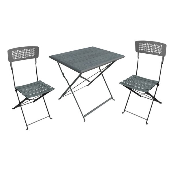 Boyter 3 Piece Bistro Set by Wrought Studio