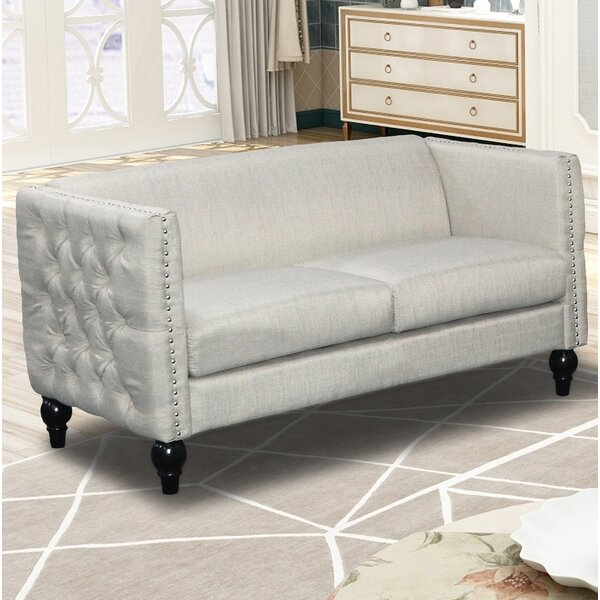 Chic Annuziata Living Room Loveseat by House of Hampton by House of Hampton