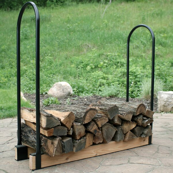 Steel Adjustable Firewood Log Rack by Wildon Home ®