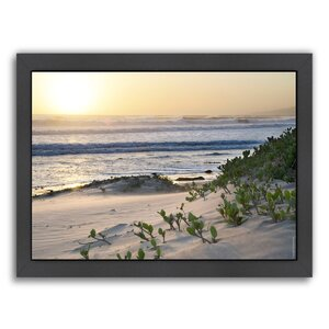 Pacific Ocean Seascape #5 Framed Photographic Print by East Urban Home