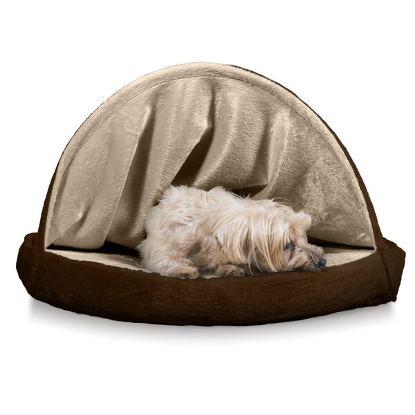 Kronqui Micro-velvet Snuggery Hooded with Memory Top Foam by Tucker Murphy Pet