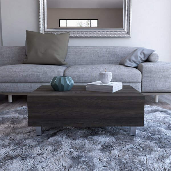 Mcconnellsburg Lift Top Coffee Table with Storage by Ebern Designs Ebern Designs