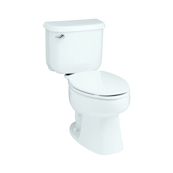 Windham Front 1.6 GPF Round 2 Piece Toilet by Sterling by Kohler