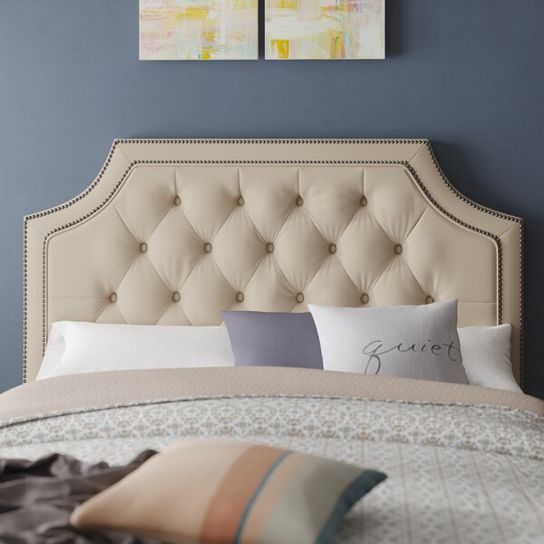 Devitt Upholstered Panel Headboard by Darby Home Co